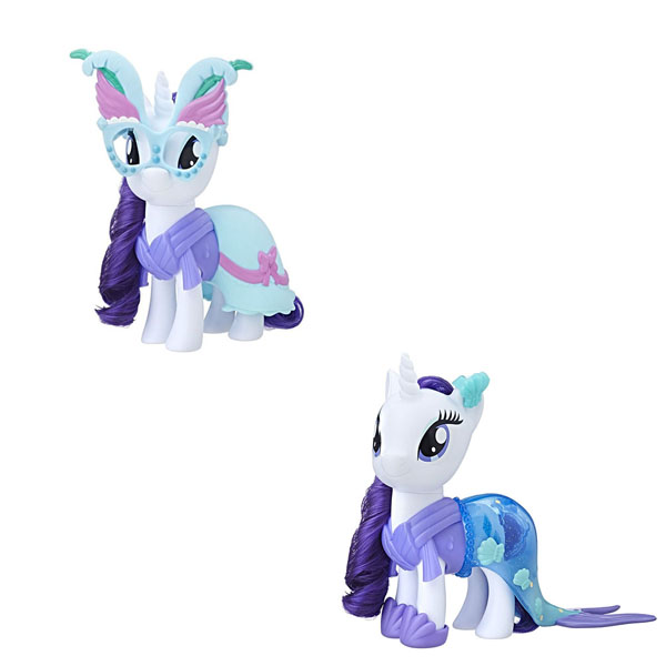 Купить Hasbro My Little Pony C0721/C1822 Май Литл Пони Пони-модницы Сияние Рарити белая, Игровой набор Hasbro My Little Pony