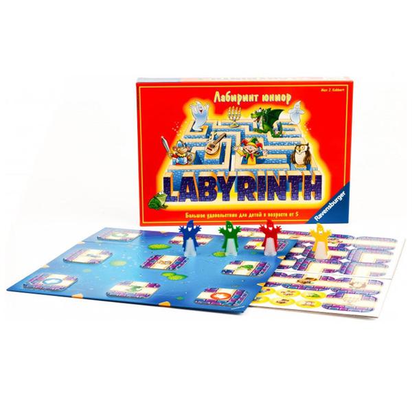 Купить Ravensburger R21093 Настольная игра Лабиринт Юниор