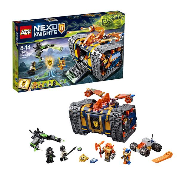 Lego Nexo Knights 72006 Конструктор Лего Нексо Мобильный арсенал Акселя, арт:152485 - Nexo Knight, Конструкторы LEGO