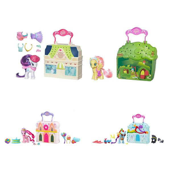 Купить Hasbro My Little Pony B3604 Май Литл Пони Мейнхеттен (в ассортименте), Игровой набор Hasbro My Little Pony
