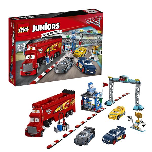 Lego Juniors 10745 Конструктор Лего Джуниорс Финальная гонка Флорида 500, арт:149780 - Джуниорс, Конструкторы LEGO