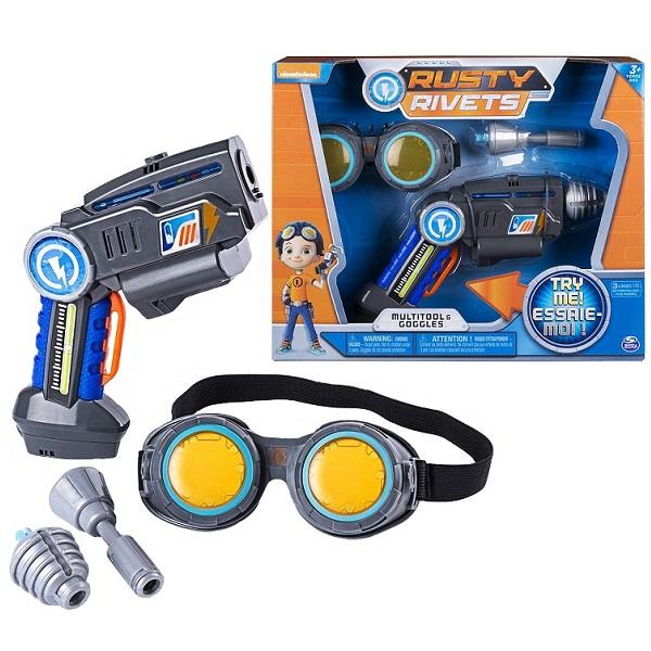 Rusty Rivets 28109 Супер инструмент и очки Расти - Игровые наборы