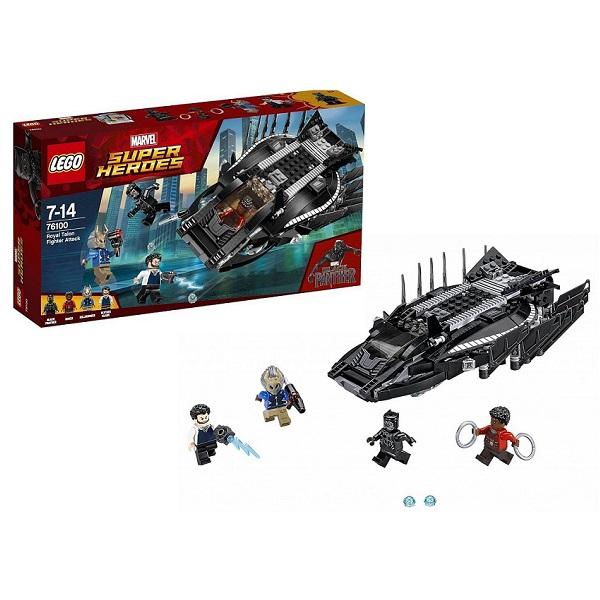 Купить Lego Super Heroes 76100 Лего Супер Герои Нападение Королевского Когтя, Конструкторы LEGO