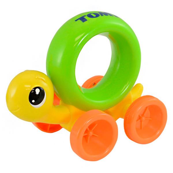 """TOMY PlasticToys T72200 Томи Развивающие игрушки Черепашка """"Нажимай и догоняй"""""""