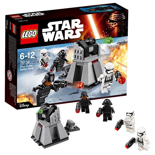 Купить Lego Star Wars 75132 Лего Звездные Войны Боевой набор Первого Ордена, Конструктор LEGO
