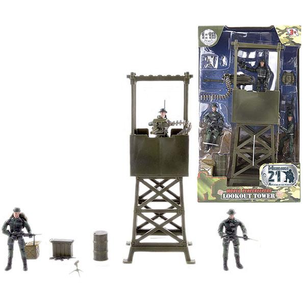 Купить World Peacekeepers MC77021 Игровой набор WP. Караульная вышка 1:18, (3 фигурки), Игровые наборы и фигурки для детей World Peacekeepers
