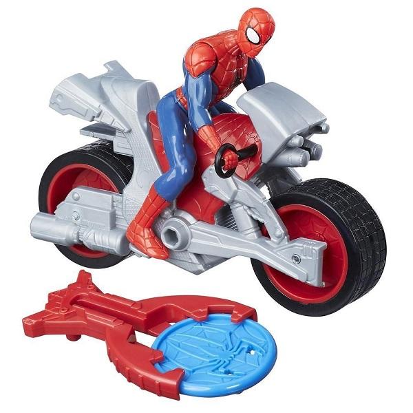Hasbro Spider-Man B9705/B9994 Человек-паук на мотоцикле - Игровые наборы