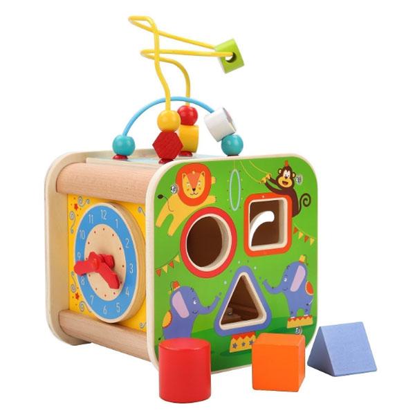 Купить Lucy&Leo LL211 Универсальный занимательный куб Цирк , Развивающие игрушки для малышей Lucy&Leo