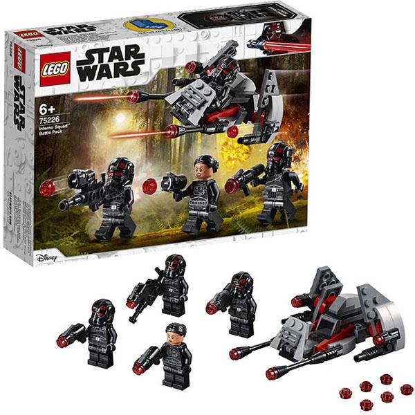 Купить Lego Star Wars 75226 Конструктор Лего Звездные Войны Боевой набор отряда Инферно, Конструктор LEGO