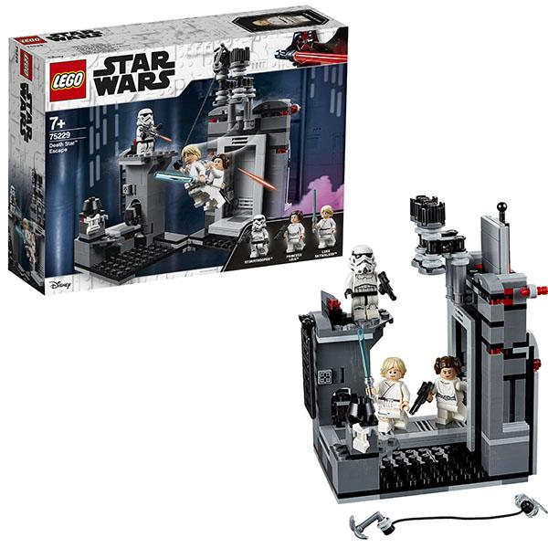 Купить LEGO Star Wars 75229 Конструктор ЛЕГО Звездные Войны Побег со Звезды смерти, Конструктор LEGO