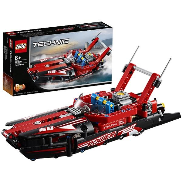 Купить Lego Technic 42089 Конструктор Лего Техник Моторная лодка, Конструкторы LEGO