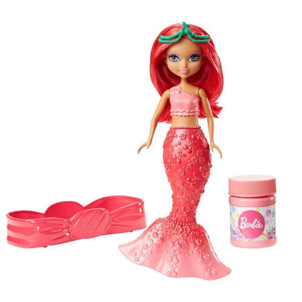 Купить Mattel Barbie DVN00 Барби Маленькие русалочки с пузырьками Стильная, Кукла Mattel Barbie