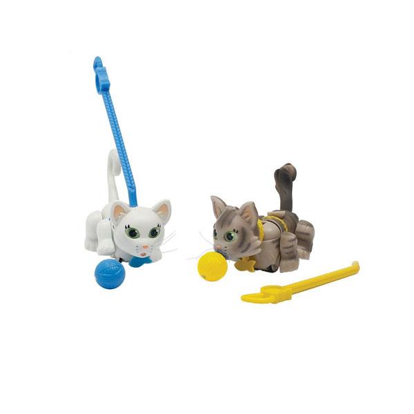 Купить Pet Club Parade PTC01111 Пет Клаб Парад Фигурки кошечек с мячиком и поводком (в ассортименте), Игровой набор Pet Club Parade