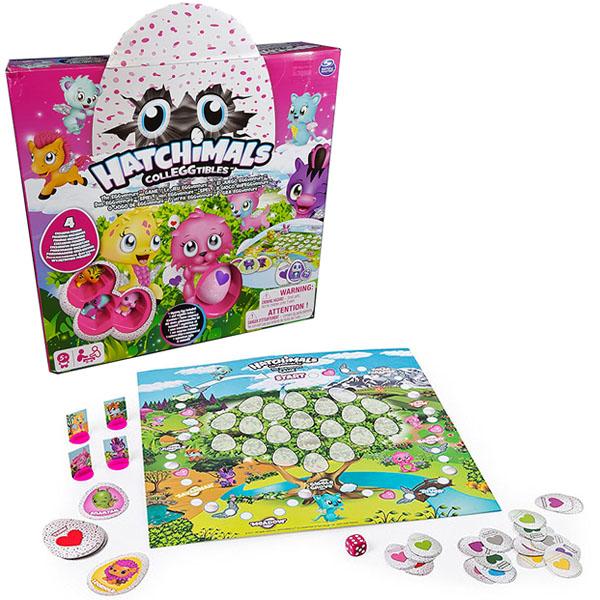 Купить Hatchimals 98234 Хетчималс Настольная игра Memory + 4 коллекционные фигурки, Настольная игра Hatchimals