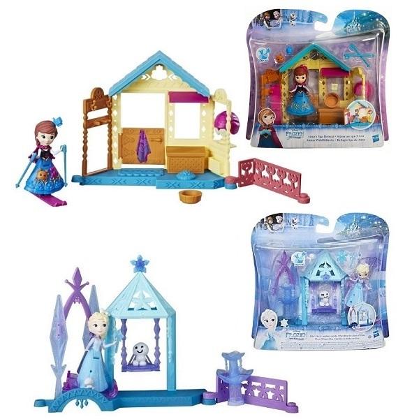 Купить Hasbro Disney Princess E0096 Домик Холодное Сердце, Игровые наборы и фигурки для детей Hasbro Disney Princess