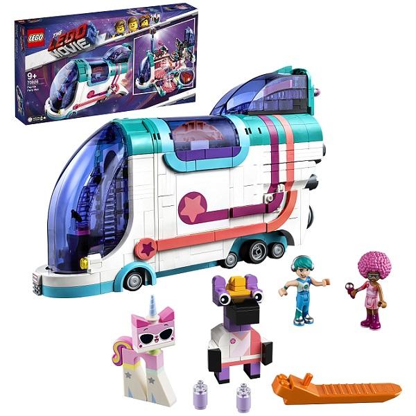 Купить LEGO Movie 2 70828 Конструктор ЛЕГО Фильм 2 Автобус для вечеринки, Конструкторы LEGO