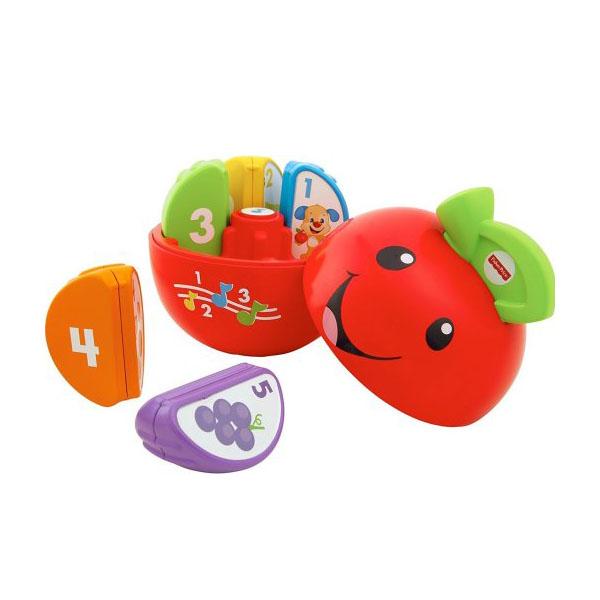 Купить Mattel Fisher-Price DYY40 Фишер Прайс Обучающая игрушка Яблочко , Развивающие игрушки для малышей Mattel Fisher-Price