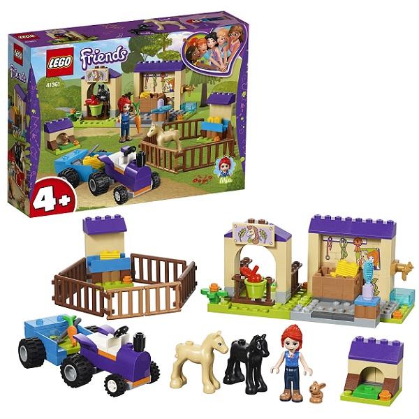 Купить Lego Friends 41361 Конструктор Лего Подружки Конюшня для жеребят Мии, Конструкторы LEGO