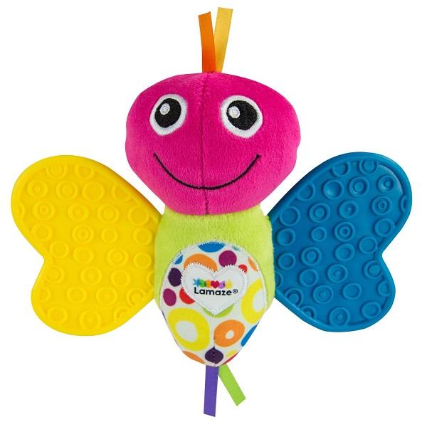 """Развивающие игрушки для малышей TOMY Lamaze T27655 """"Мини бабочка"""" фото"""
