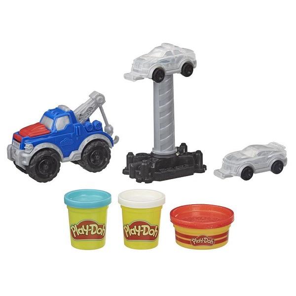 """Пластилин и масса для лепки Hasbro Play-Doh E6690 Игровой набор Wheels """"Эвакуатор"""" фото"""