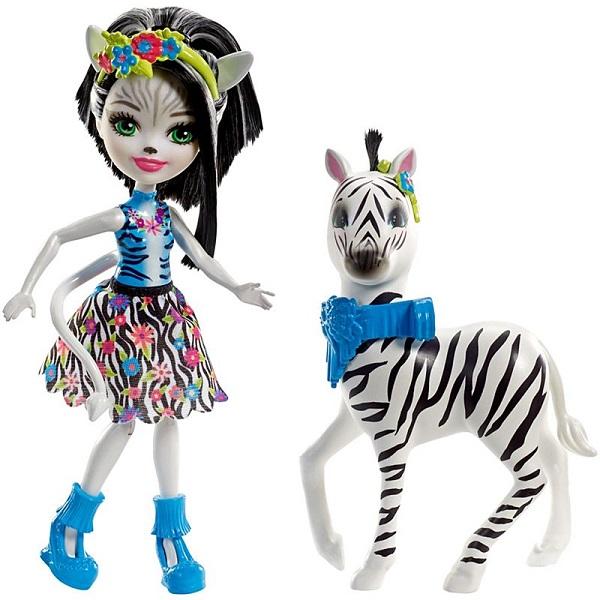 Купить Mattel Enchantimals FKY75 Кукла с большой зверюшкой, Куклы и пупсы Mattel Enchantimals