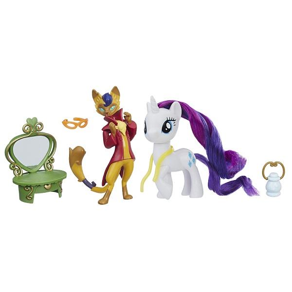 Купить Hasbro My Little Pony B9160/E2246 Игровой набор Уроки Дружбы Рарити и Хитрый Хвост, Игровые наборы и фигурки для детей Hasbro My Little Pony