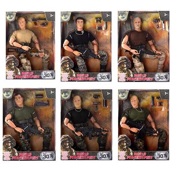 """Игровые наборы и фигурки для детей World Peacekeepers MC90001 Игровой набор """"Универсальный солдат"""" 1:6 (в ассортименте) фото"""