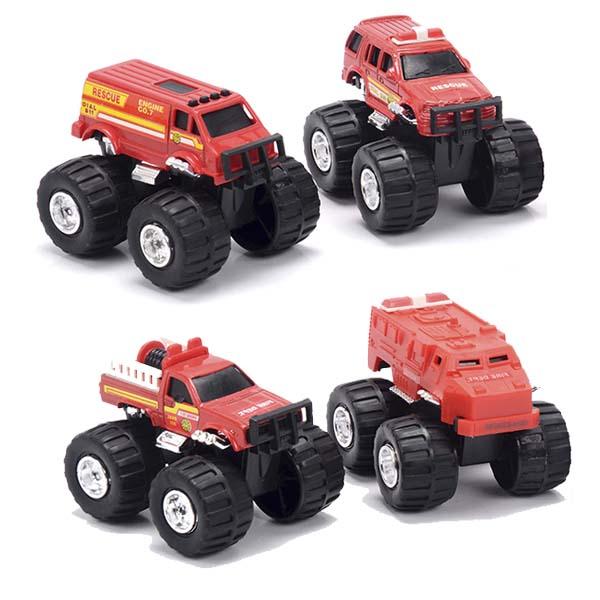 Машинка New Bright&Soma — Soma 79968 Пожарная техника (в ассортименте)