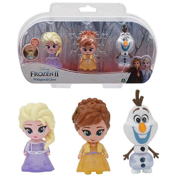 Купить Giochi Preziosi Frozen FRN75000 Светящаяся фигурка Холодное Сердце-2 (в наборе 3 шт), Игровые наборы и фигурки для детей Giochi Preziosi