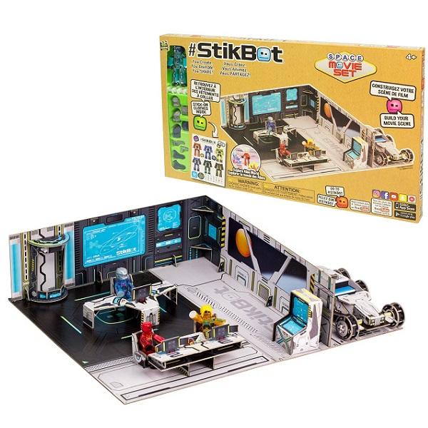 Купить Stikbot TST623S Стикбот набор Космическая станция , Игровые наборы и фигурки для детей Stikbot