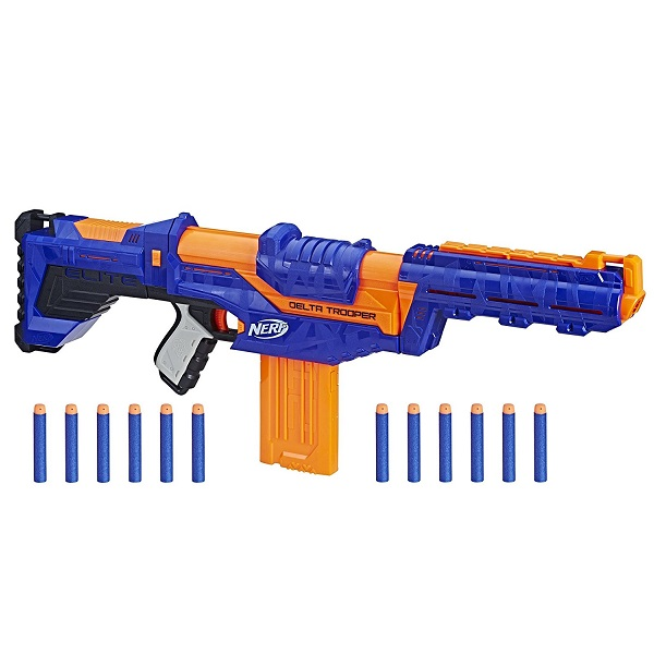 Купить Hasbro Nerf E1911 Бластер Нёрф Элит Дельта Трупер, Игрушечное оружие и бластеры Hasbro Nerf