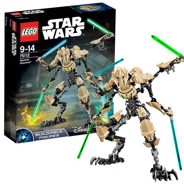 Lego Star Wars 75112 Лего Звездные Войны Генерал Гривус