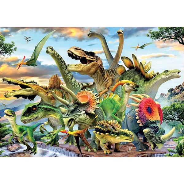 Купить Educa 17961 Пазл 500 деталей Динозавры , Пазлы Educa