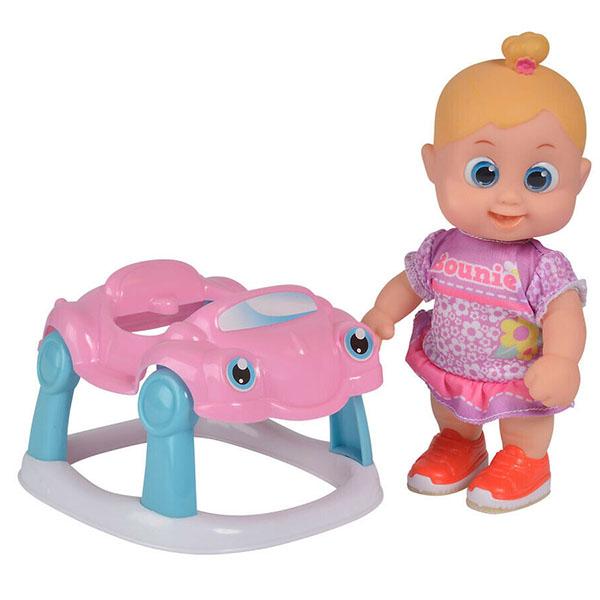 Куклы и пупсы Bouncin' Babies Bouncin' Babies 803001 Кукла Бони с машиной, 16 см по цене 1 289