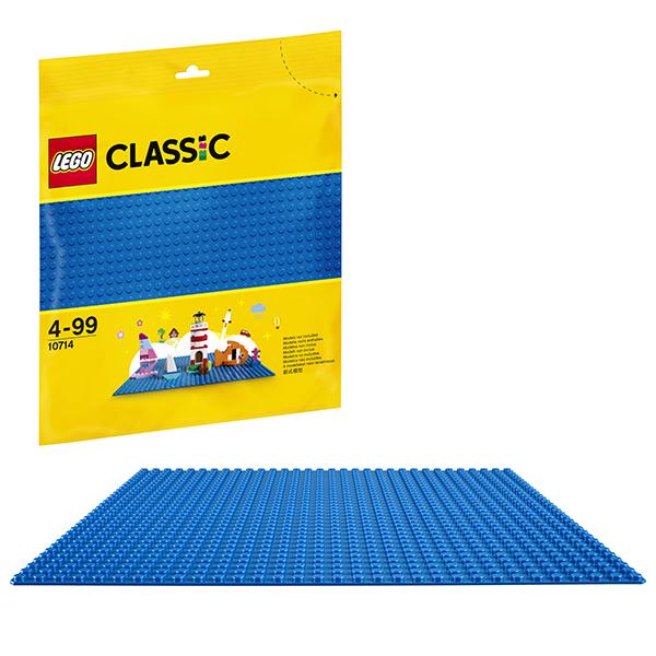 Lego Classic 10714 Конструктор Лего Классик Синяя базовая пластина, арт:152426 - Классик , Конструкторы LEGO
