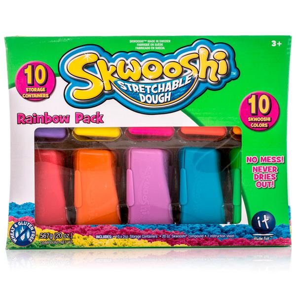 Пластилин Skwooshi от Toy.ru
