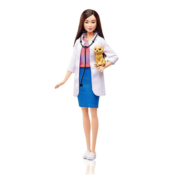Mattel Barbie DVF58 Барби Кукла из серии Кем быть?, арт:149101 - Barbie, Куклы и аксессуары