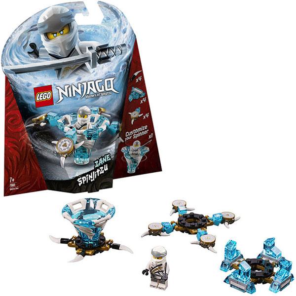 Купить LEGO Ninjago 70661 Конструктор ЛЕГО Ниндзяго Зейн - мастер Кружитцу, Конструкторы LEGO