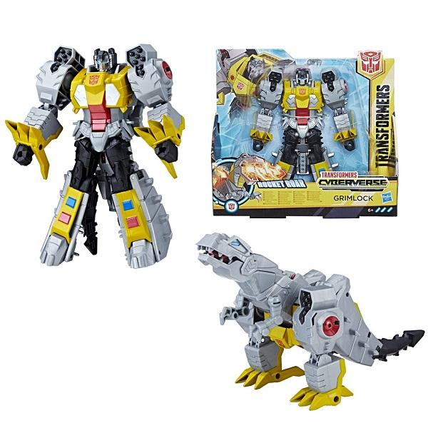 Купить Hasbro Transformers E1886/E1908 Трансформер КИБЕРВСЕЛЕННАЯ 19 см Гримлок, Игровые наборы и фигурки для детей Hasbro Transformers