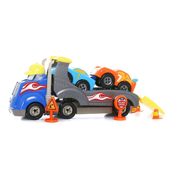 Boley 31465F Подарочный набор Автовоз Смелый гонщик - Игрушки для малышей