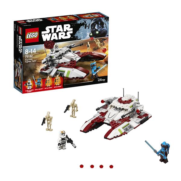 Купить Lego Star Wars 75182 Лего Звездные Войны Боевой танк Республики, Конструктор LEGO