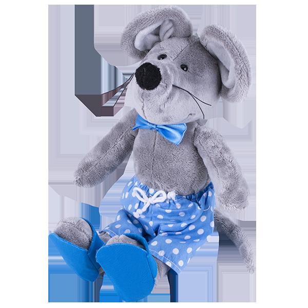 Мягкие игрушки SOFTOY — SOFTOY S884/20 Мягкая игрушка Мышка, 36см