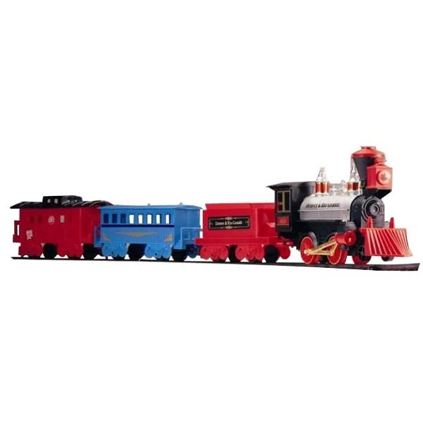 Купить Eztec 60614 Железная дорога FORTY NINER SPECIAL TRAIN SET (29 частей), Наборы игрушечных железных дорог, локомотивы, вагоны Eztec