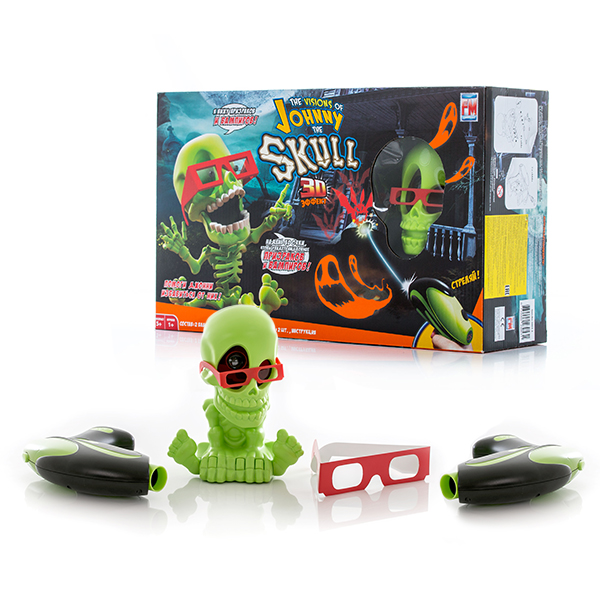 Интерактивная игрушка Johnny the Skull - Стрелялки , артикул:143161