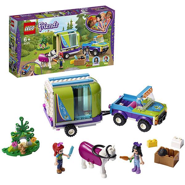 Купить LEGO Friends 41371 Конструктор ЛЕГО Подружки Трейлер для лошадки Мии, Конструкторы LEGO
