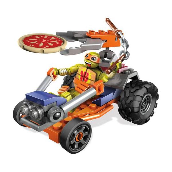 Купить Mattel Mega Bloks DMX38 Мега Блокс Черепашки Ниндзя: лихие гонщики, Конструкторы Mattel Mega Bloks