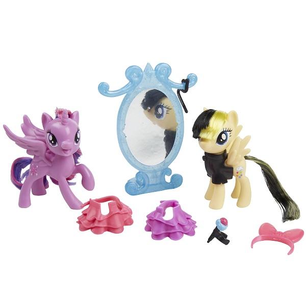 Купить Hasbro My Little Pony B9160/E0996 Игровой набор Уроки Дружбы Искорка и Серенада, Игровые наборы и фигурки для детей Hasbro My Little Pony