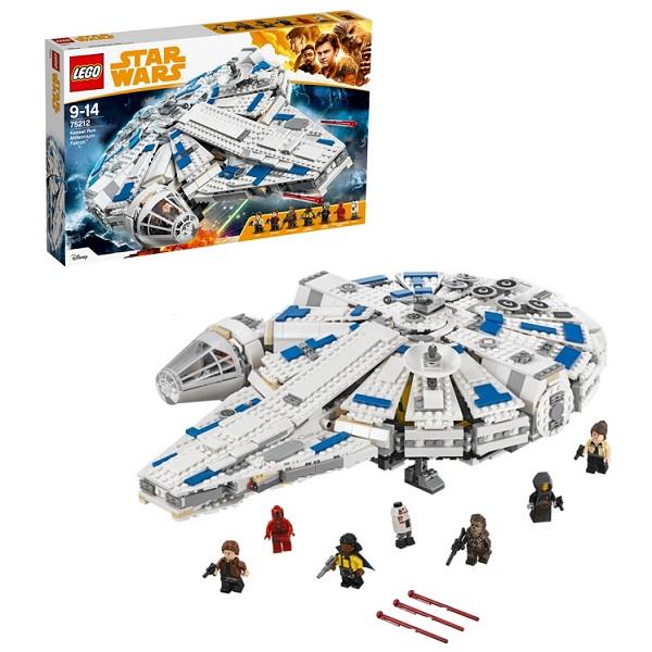 Lego Star Wars 75212 Конструктор Лего Звездные Сокол Тысячелетия на Дуге Кесселя, арт:153865 - Звездные войны, Конструкторы LEGO