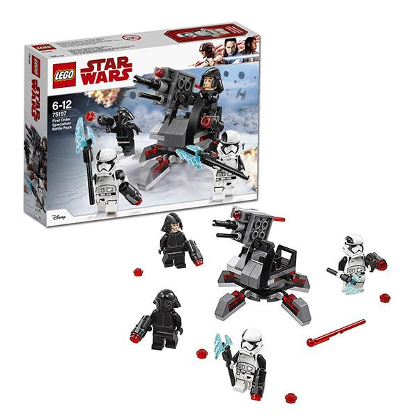 Купить Lego Star Wars 75197 Лего Звездные Войны Боевой набор специалистов Первого Ордена, Конструкторы LEGO
