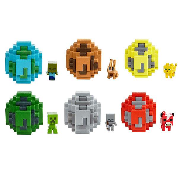 Mattel Minecraft FMC85 Мини-фигурка в яйце, арт:157276 - Минифигурки, Игровые наборы